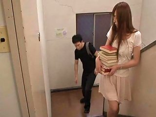 Naughty Japanese Librarian Getting Fucked Hardcore At Work Any Porn