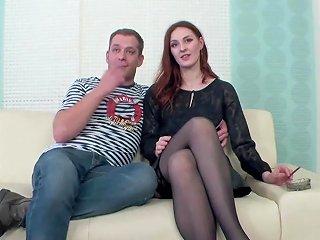 Redhead Swinger Cuckolds Husband