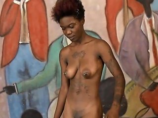 New Arrogant Ebony Cunt Sade Quits After Throated And