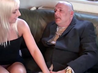 German 18yr Old Teen Get Fuck By 64yr Old Grandpa For