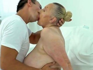 Horny Guy Fucks Big Fat Granny
