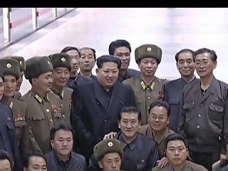 Hot Korean Leader Kim Jong Un Rides The Subway